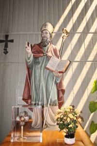Parrocchia San Sabino Bari Statua Lignea
