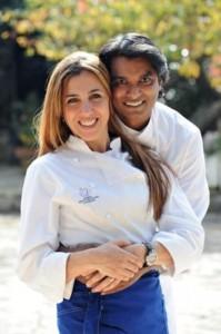 Antonella Ricci e Vinod Sookar de Al fornello da Ricci, Ceglie Messapica