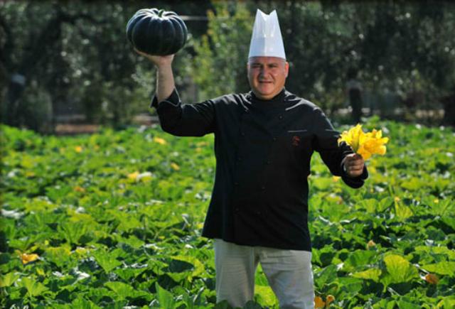 Lo chef contadino Pietro Zito