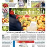 """""""Contadini 2.0"""" su Repubblica Bari, edizione del 28 gennaio 2014, pagina XI"""