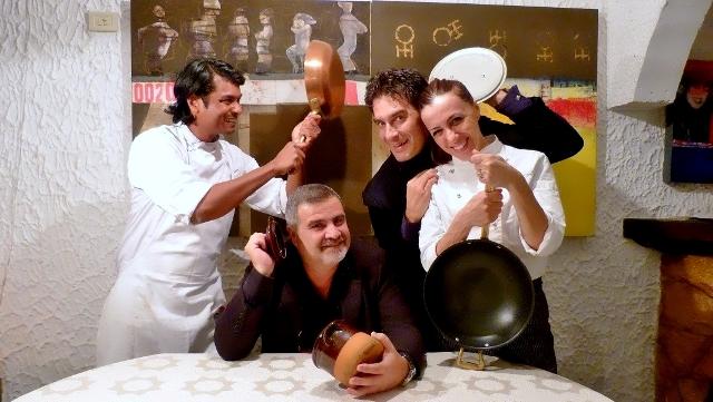 Lo chef Ippazio Turco del ristorante Lemì di Tricase