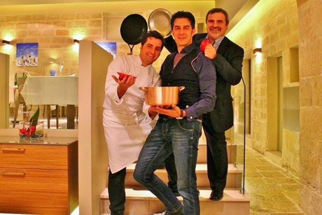Lo chef Felice Sgarra del ristorante Umami di Andria