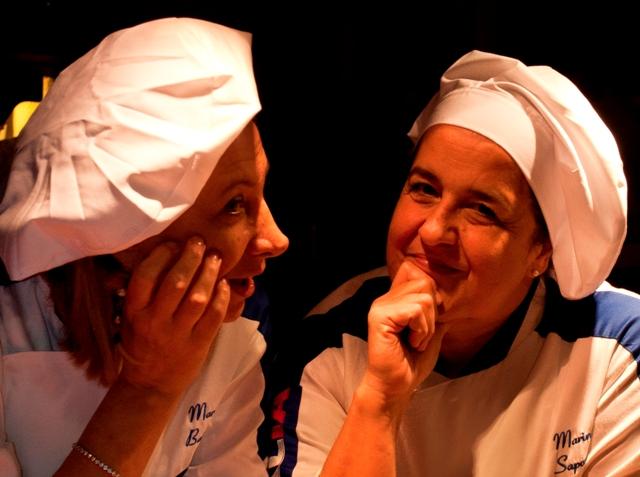 Mara Battista e Marina Saponari