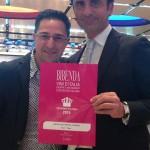 Lo chef Gaetano Servidio e il patron Michele Boccardi