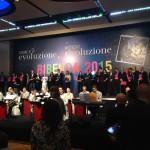 La premiazione al Rome Cavalieri