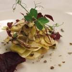 Primo piatto dello chef Servidio