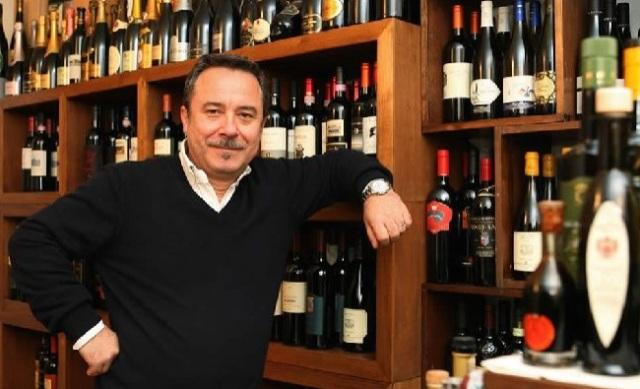 Il patron di Bacco Franco Ricatti, traslocato da Bari a Barletta