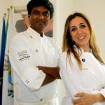 Vinod Sookar e Antonella Ricci