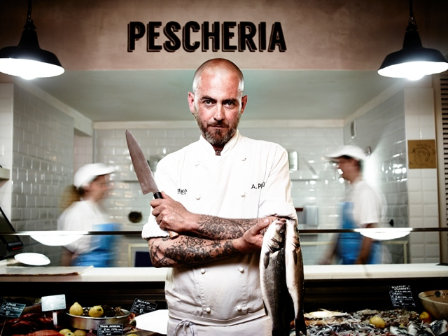 Alberto Putti, chef Pescheria con cottura