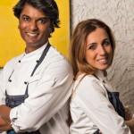 Antonella Ricci e Vinod Sookar,  de Al fornello da Ricci