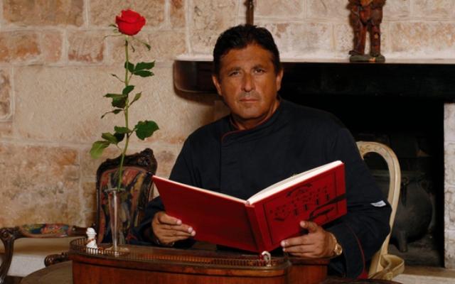 Leonardo Marco, chef patron de Il poeta contadino di Alberobello (Bari)