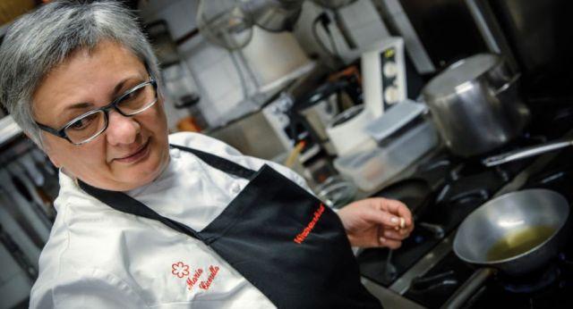 Maria Cicorella, chef patron del Pashà di Conversano (Bari)