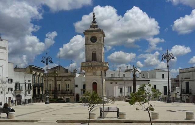 Piazza Plebiscito a Ceglie Messapica (ph Vito Rodio)