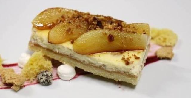 Cheesecake al lime e mele caramellate di Antonio Sgarra