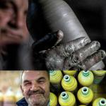 Il ceramista Franco D'Aniello