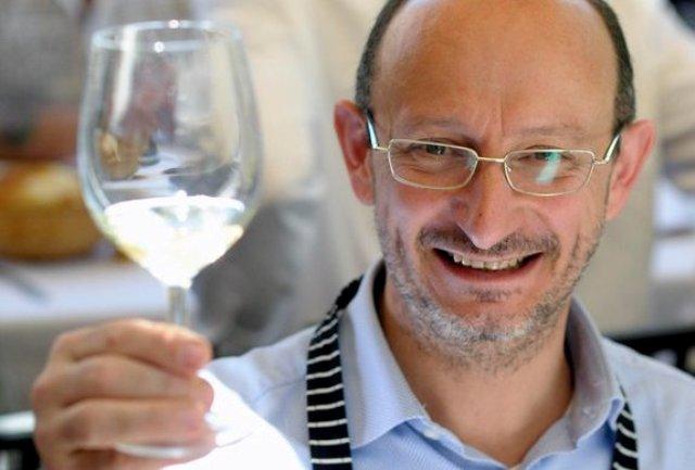 Beppe Schino, patron di Perbacco a Bari