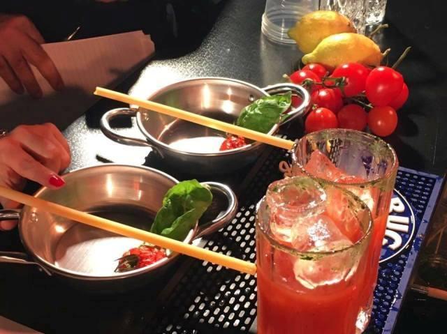 Apulian's bloody Mary, il drink di Palmitessa ispirato al ragù della domenica