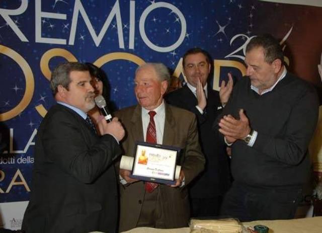 Nella foto, da sinistra: Sandro Romano, Giuseppe Di Cosmo e Gianfranco Vissani