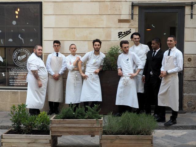 La crew di Bros a Lecce