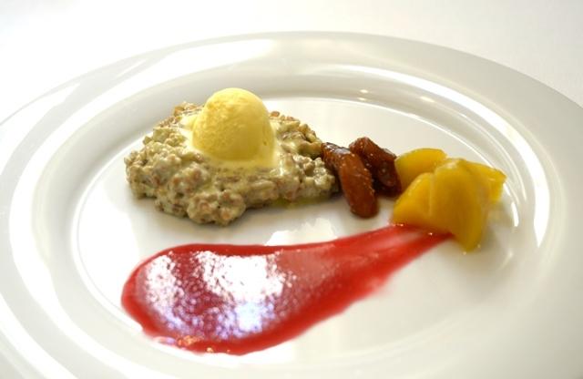 Da Sud a Oriente, il dolce  preparato da Corrado Assenza al Pranzo possibile