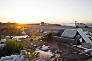 Sbocco della condotta del depuratore - Carini (PA)