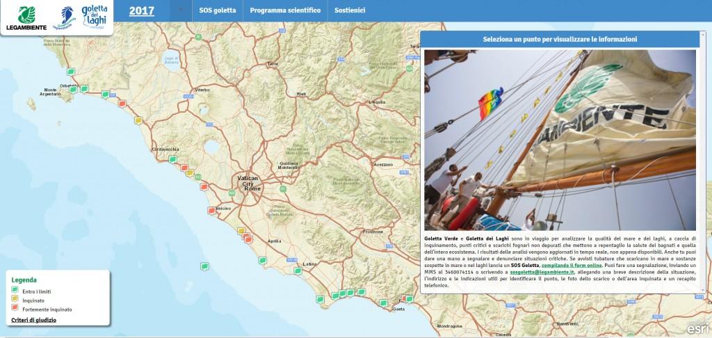 Guarda la mappa interattiva delle analisi