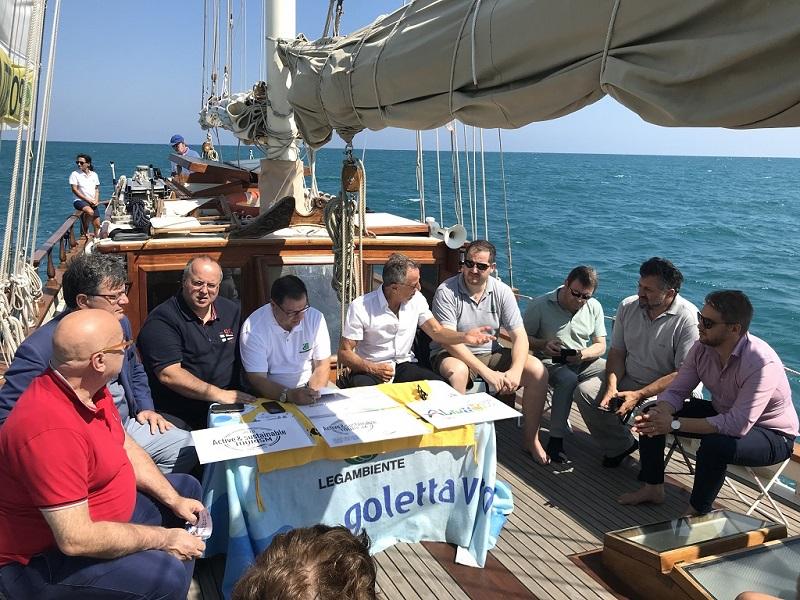 foto a bordo