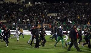 Gli incidenti di Port Said nel febbraio 2012