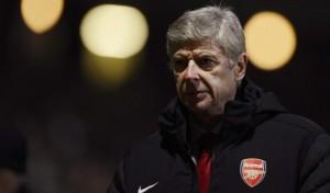 Arséne Wenger, allenatore dell'Arsenal dal 1996