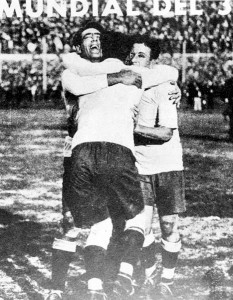 La gioia degli uruguagi campioni