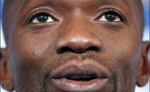 Claude Makelele, al debutto in panchina (Bastia)