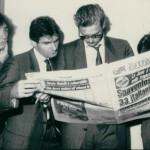 Heysel 1985. Prandelli, Briaschi e Tacconi all'aeroporto la mattina dopo