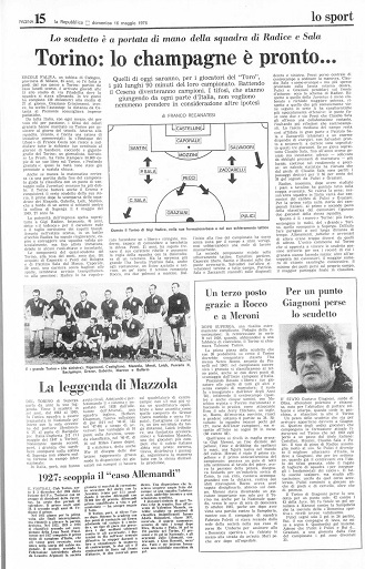 la Repubblica del 16 maggio 1976