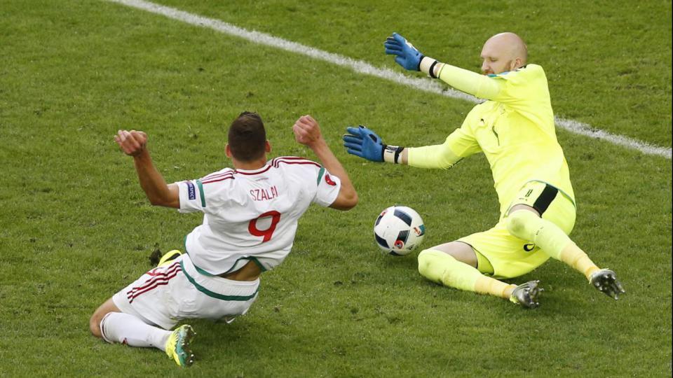 Il gol di Szalai contro l'Austria