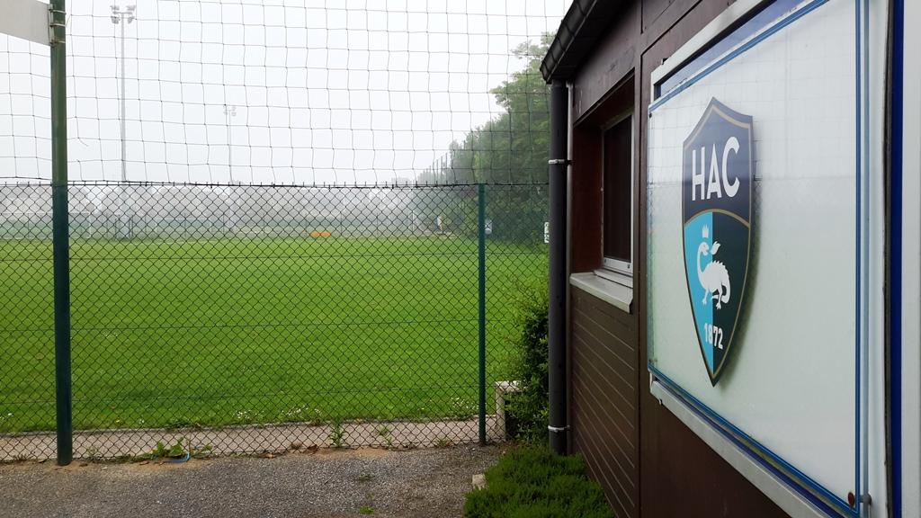 Il campo del centro di formazione del Le Havre