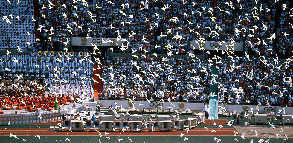 la cerimonia di Seoul 1988