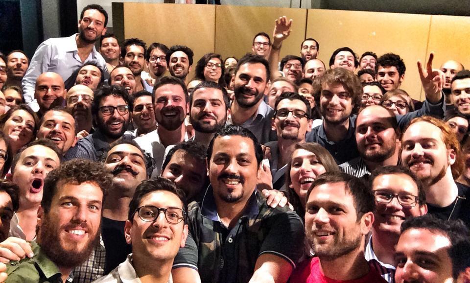Il selfie di gruppo finale (foto: Impact Hub)