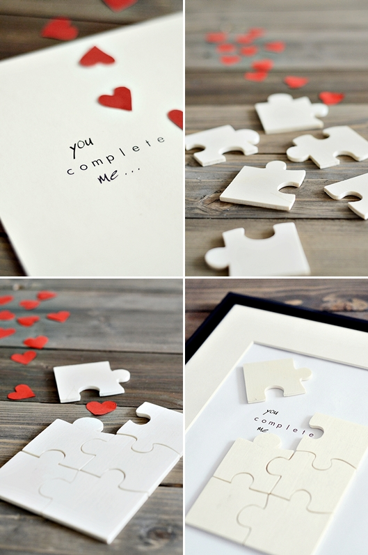 Valentinstagspuzzle