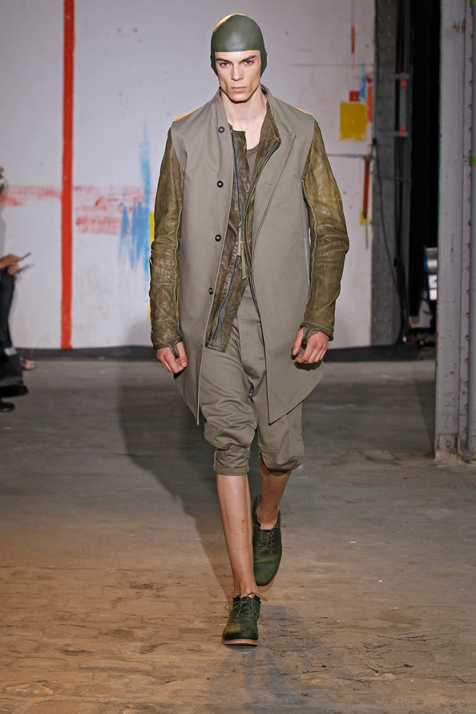 BORIS BIDJAN SABERI MEN SS15 PARIS 6/26/14
