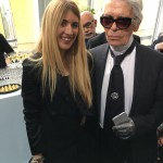 Karl Lagerfeld Francesca Richiardi LVMH Prize