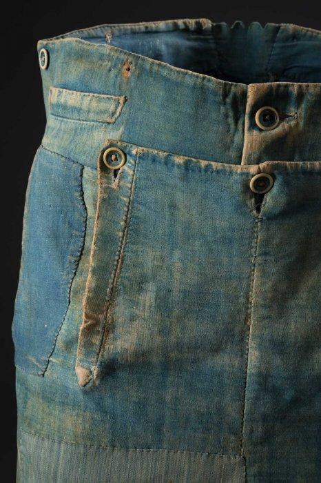 Pantaloni da lavoro maschili, 1840