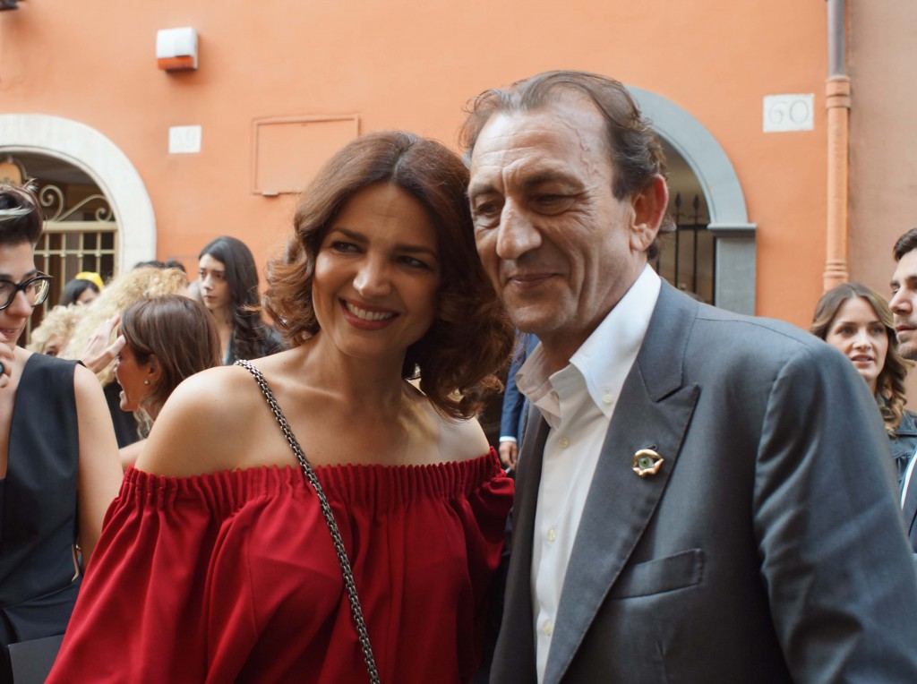 Tosca D'aquino e Bernard Delettrez