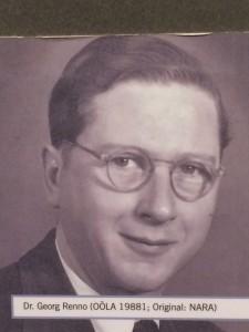 dottor Georg Renno (medico ed aguzzino ad Harteim)