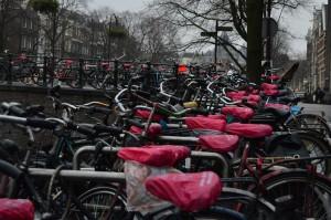 Il centro di Amsterdam