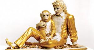 """Michael Jackson and Bubbles"" di Jeff Koons"