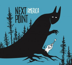 "Copertina di ""America"" album dei Next Point"