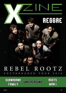 La copertina del primo numero della rivista musical Xzine