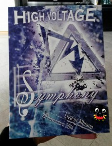 High Voltage la copertina del dvd