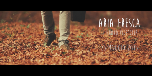 L'album Aria Fresca di Francesco Camin