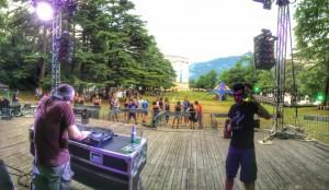 Ore 12 si scalda il palco al Trentino Music Festival